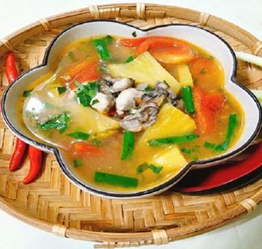 Công thức chế biến món canh hàu nấu chua thơm ngon bổ dưỡng