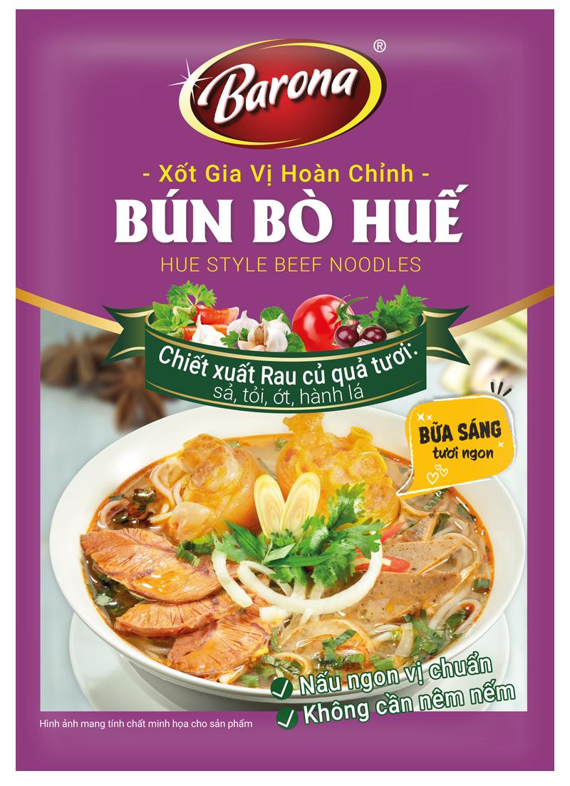 Xốt Gia Vị Hoàn Chỉnh Barona - Bún Bò Huế
