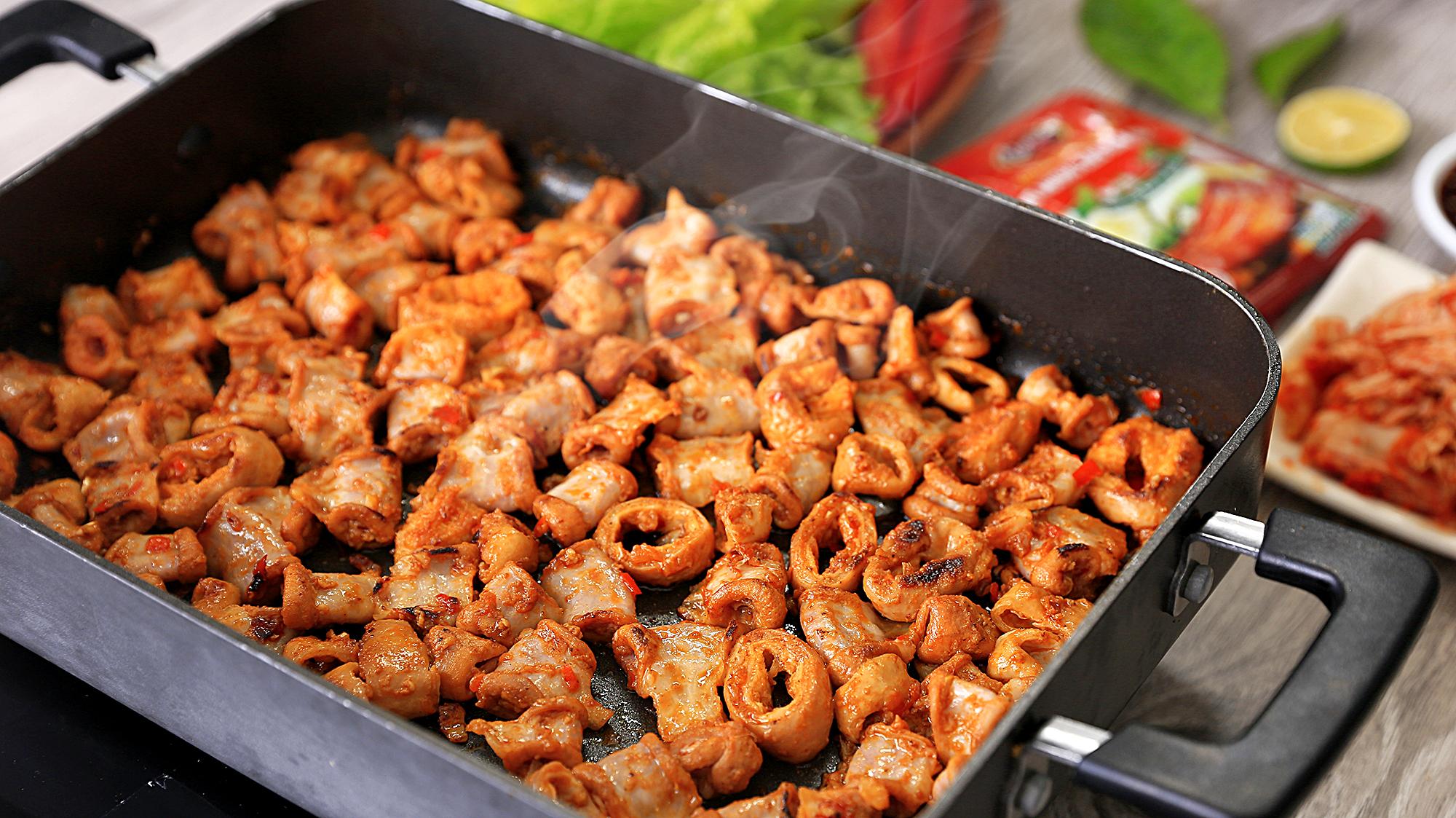 Xốt Gia Vị Hoàn Chỉnh Barona - Thịt Nướng Kiểu Hàn Quốc